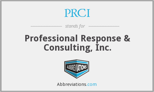 What does PRCI stand for?