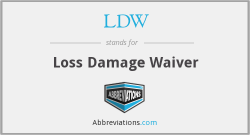 What does LDW stand for?