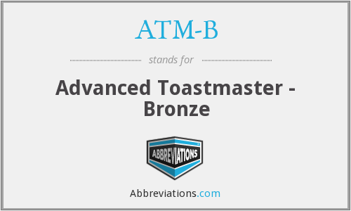 What does ATM-B stand for?