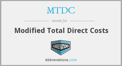 What does MTDC stand for?