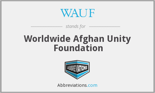 What does WAUF stand for?