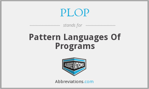 What does PLOP stand for?