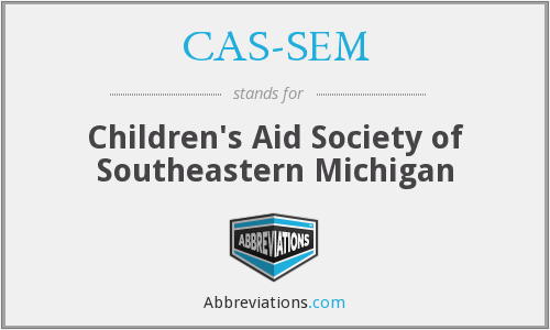 What does CAS-SEM stand for?