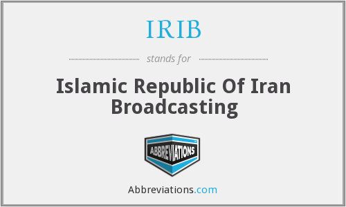 What does IRIB stand for?
