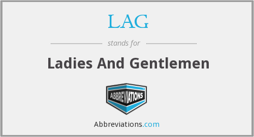 What does LAG stand for?