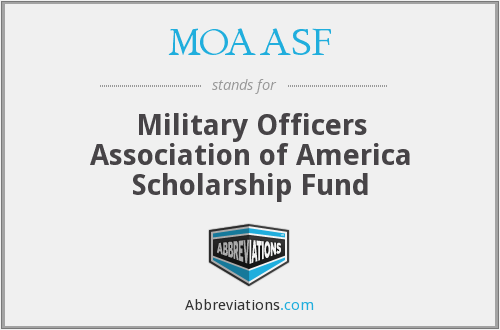 What does MOAASF stand for?