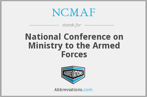 What does NCMAF stand for?