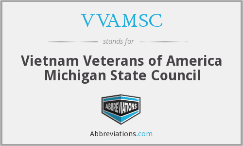 What does VVAMSC stand for?