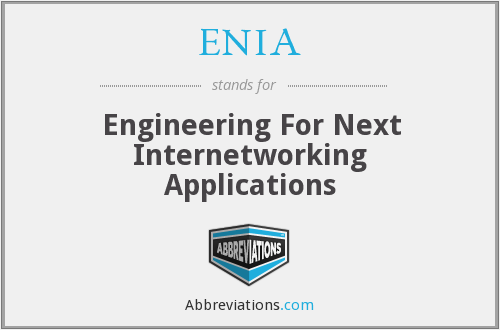 What does ENIA stand for?