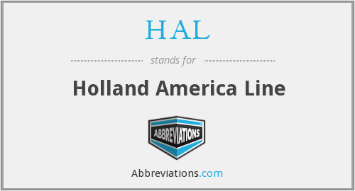 What does HAL stand for?