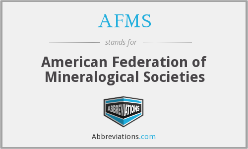 What does AFMS stand for?