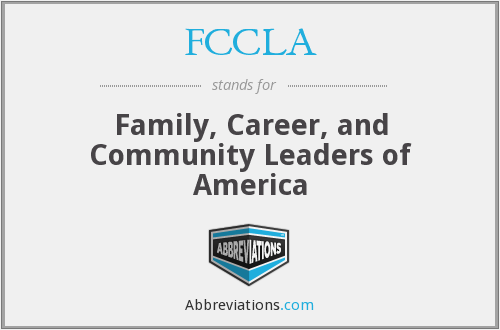 What does FCCLA stand for?