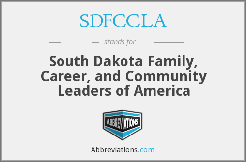 What does SDFCCLA stand for?