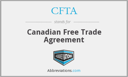 What does CFTA stand for?