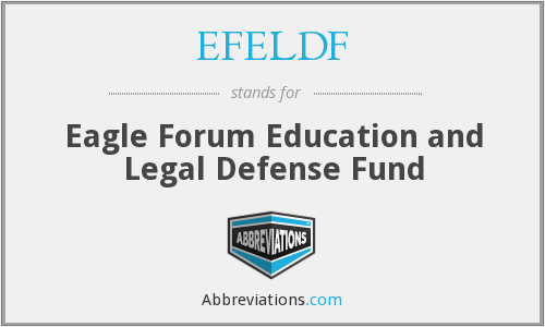 What does EFELDF stand for?