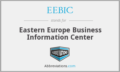 What does EEBIC stand for?