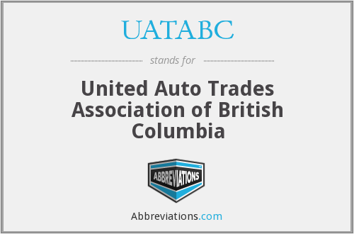 What does UATABC stand for?