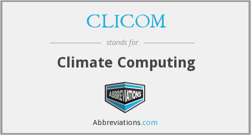 What does CLICOM stand for?