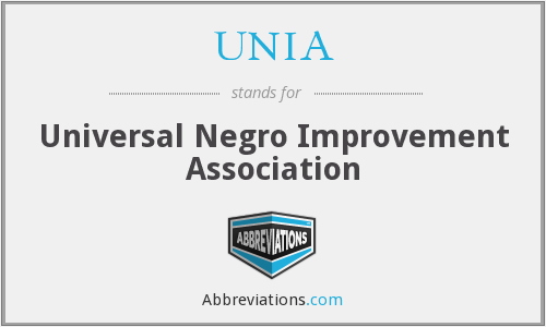 What does UNIA stand for?