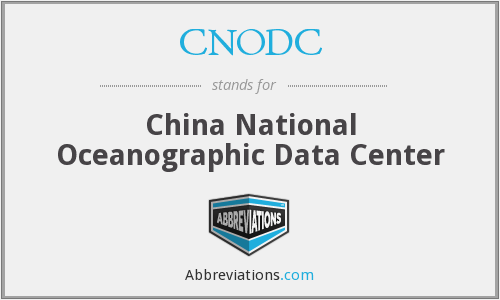 What does CNODC stand for?