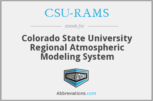 What does CSU-RAMS stand for?