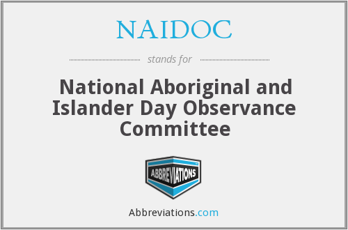 What does NAIDOC stand for?