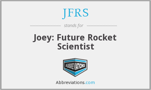 What does JFRS stand for?