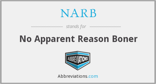 What does NARB stand for?
