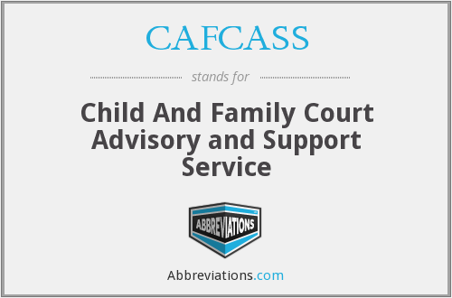 What does CAFCASS stand for?