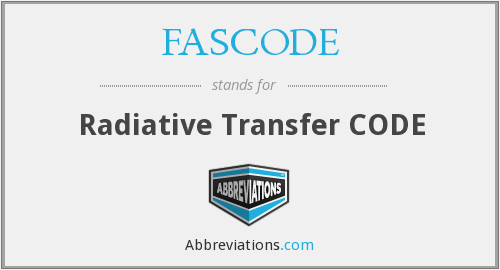 What does FASCODE stand for?