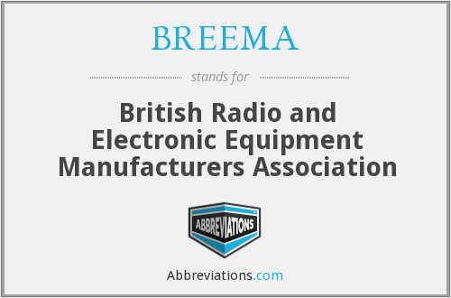 What does BREEMA stand for?