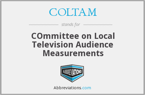 What does COLTAM stand for?