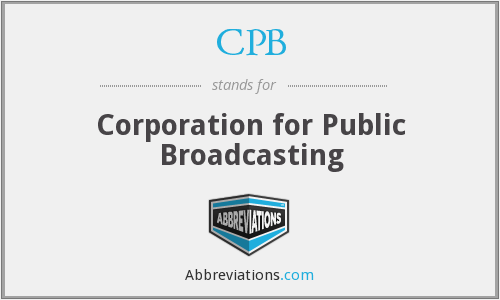 What does CPB stand for?