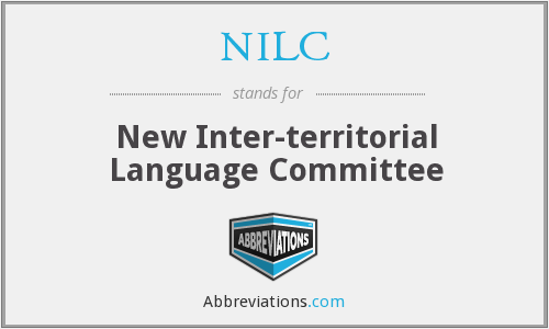 What does NILC stand for?
