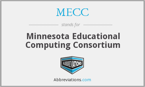 What does MECC stand for?