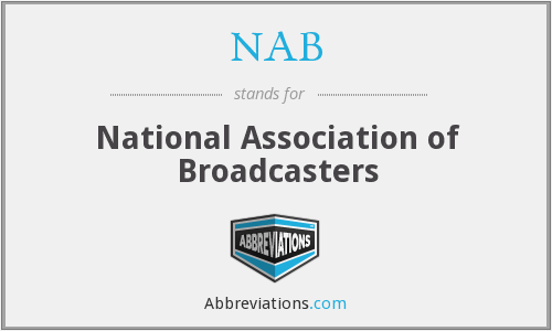 What does NAB stand for?
