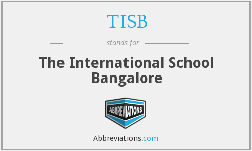 What does TISB stand for?