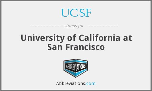 What does UCSF stand for?