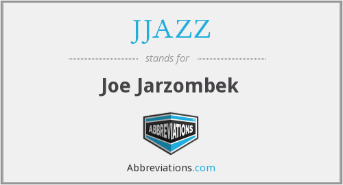 What does JJAZZ stand for?