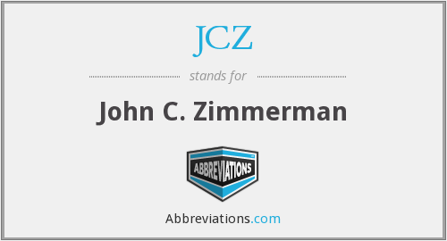 What does JCZ stand for?