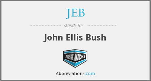 What does JEB stand for?