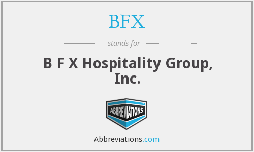 What does BFX stand for?
