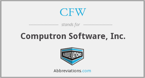 What does CFW stand for?