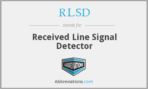 What does RLSD stand for?