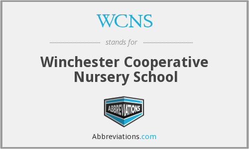 What does WCNS stand for?