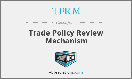 What does TPRM stand for?