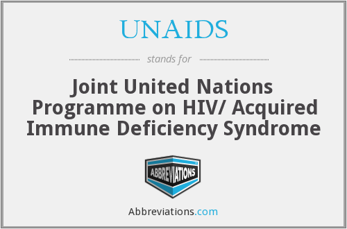 What does UNAIDS stand for?
