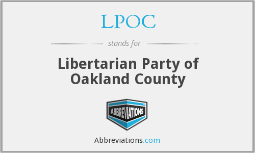 What does LPOC stand for?
