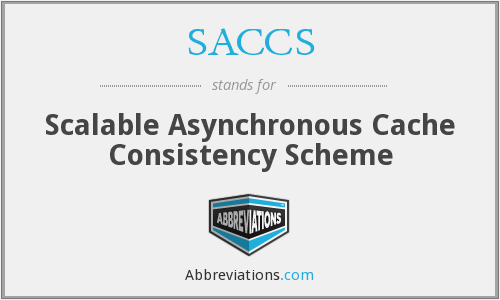 What does SACCS stand for?