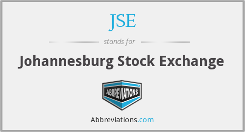 What does JSE stand for?